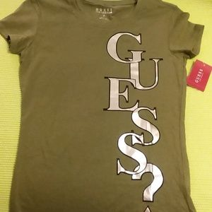 NWT Guess Los Angeles Vertical Tee